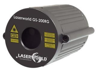 Laserworld GS-200RG II Gartenlaser rot-grün IP67
