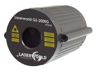 Laserworld GS-200RG MOVE II Gartenlaser rot-grün IP67