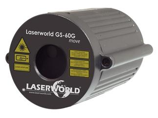Laserworld GS-60G MOVE Gartenlaser grün IP67