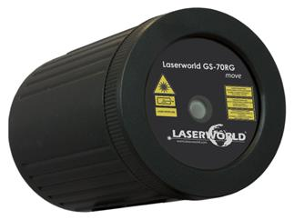 Laserworld GS-70RG MOVE Gartenlaser IP67
