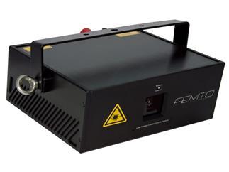 Laserworld RTI FEMTO RGB 3.5 inkl. abnehmbarem Steuerdisplay mit Touchfunktion