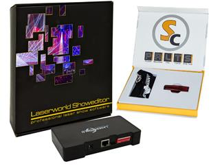 Laserworld Bundle ShowNET-Interface + Showcontroller-Software