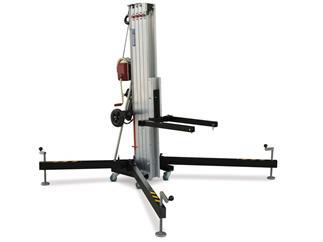 WORK LW 461 RB Traversenlift - schwarz 250kg bis zu 6,35m Höhe