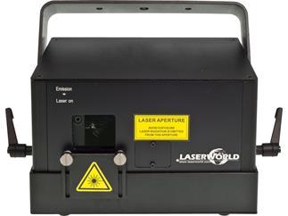 Laserworld DS-3300 RGB, Diode Serie, ILDA, DMX, Automodus, Musikmodus