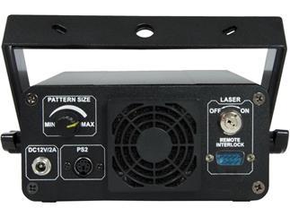 Laserworld EL-200G KeyTEX - Textprojektionslaser inkl. Tastatur + Fernbedienung