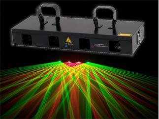 Laserworld EL-350RG, rot, grün