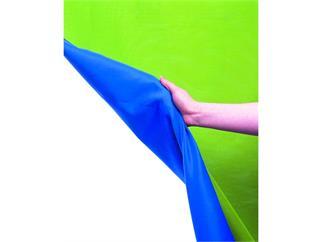 Lastolite Chromakey Textilhintergrund Grün/Blau 300x350cm m. Schlaufe