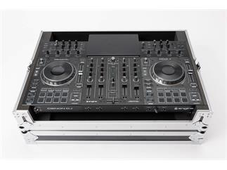 DENON DJ Prime4-Bundle - 4-Deck Standalone DJ-System mit 10-Zoll Touchscreen + Case