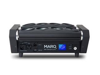 Marq Lighting Ray Tracer Quad - RGBW Dual-Roller Bar Chase-Lichteffekt