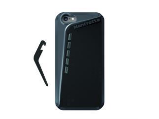 Manfrotto KLYP+ schwarzes Gehäuse für iPhone6 inkl. Aufstellfuß