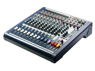 Soundcraft MFXi 8 Kompaktmixer, 8x Mono, 2x Stereo, Lexikon Effekt