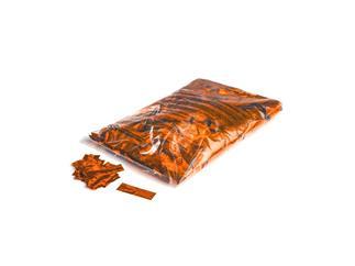 MAGICFX® Metallic Konfetti Rechteckig 55x17mm - Orange