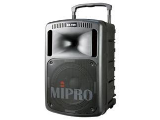 Mipro MA-808 Mobiles Lautsprechersystem, Max. 250 Watt, RMS 190 Watt, Line-In, Mic-In