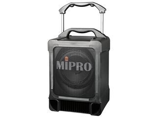 Mipro MA-707 Tragbares Lautsprechersystem, Max. 100 Watt, RMS 70 Watt, Line-In, Mic-In