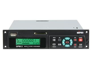 Mipro DPM-3 USB/SD-Player/Recorder für MA 505/705/708/ 808/ 909, Multi-Format, USB, SD