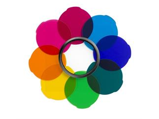 Manfrotto MLFILTERCOL Lumie Zubehör Farbfilter Kit (8 Farben bunt)