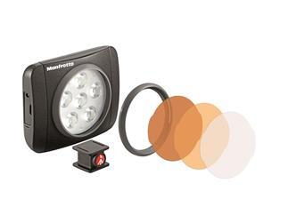 Manfrotto MLUMIEART-BK Lumie ART LED Licht & Zubehör, schwarz Licht & Zubehör, schwarz
