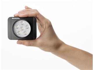 Manfrotto MLUMIEMU-BK Lumie MUSE LED Licht & Zubehör, schwarz