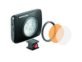 Manfrotto MLUMIEPL-BK Lumie PLAY LED Licht & Zubehör - schwarz