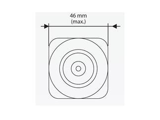YODN MSD 132 R2 reflector HID lamp, 132W, 4100lm, 9200K