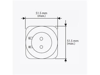 YODN MSD 230 S7 reflector HID lamp, 230W, 9500lm, 8000K