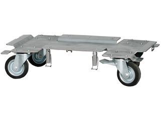 Merz Fahrgestell vier Lenkrollen zwei gebremst für M-SVE5 FG