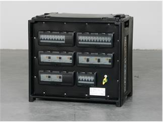 Merz Steckdosenverteiler EVENT Midnight 63A - SVE5-3 63/52-6/G/E