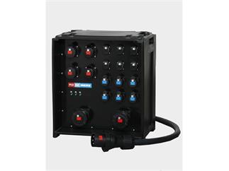 Merz Steckdosenverteiler EVENT Midnight 125A - SVE5-4 125/222-6-6/G/E