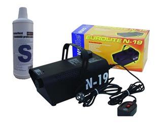 EUROLITE N-19, schwarz mit ON/OFF Controller inkl. 1 Liter S-Fluid