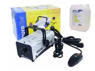 EUROLITE N-10 Nebelmaschine+ 5 Liter Pro Lighting Nebelfluid Light