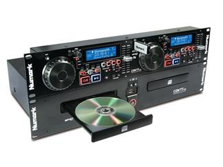 Numark CDN77 USB, All-in-One Lösung für CD/USB DJs