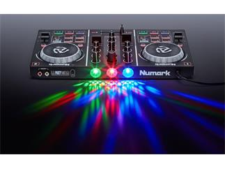 Numark Party Mix DJ Controller mit eingebauter Lichtshow