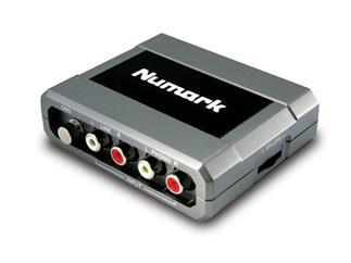 Numark Stereo/iO USB Audio Interface, zum Digitalisieren von Phono oder Line Signalen