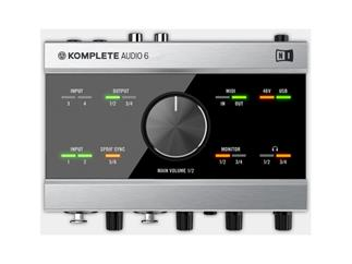 Native Instruments Komplete Audio 6 - GEBRAUCHT