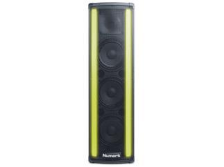 Numark Lightwave - aktiver Lautsprecher mit RGB LED Lichtleiste