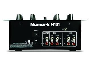 Numark M101 2-Kanal DJ-Mixer black