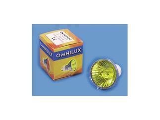 OMNILUX GU-10 230V/50W 2000h 25° gelb