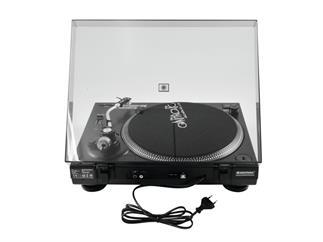 OMNITRONIC BD-1390 USB-Plattenspieler schwarz
