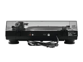 OMNITRONIC DD-2520 USB-Plattenspieler schwarz