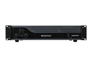OMNITRONIC E-900 MK2 Endstufe 2x450W/4 Ohm Stereo-PA-Verstärker