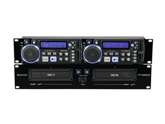 OMNITRONIC XCP-2800 MT Dual-CD-Player mit Mastertempo-Funktion
