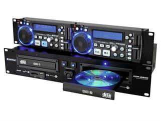 OMNITRONIC XDP-2800 Dual-CD/MP3/SD/USB