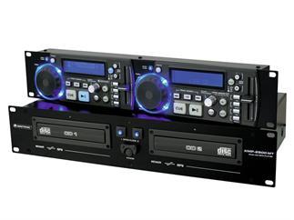 OMNITRONIC XMP-2800 MT Dual-CD-/MP3-Player mit Mastertempo-Funktion