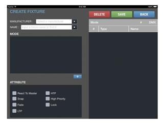 Ehrgeiz AirDMX A1 iPad DMX Controller