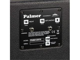 "Palmer MI Gitarrenbox 2 x 12"" mit Eminence CV-75 Model 8/16 Ohm"