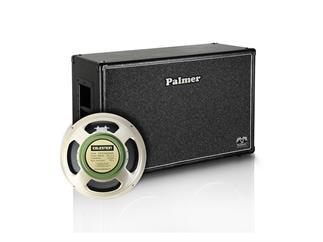 "Palmer MI Gitarrenbox 2 x 12"" mit Celestion G 12 M Greenback 8/16 Ohm"