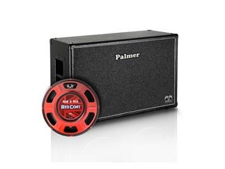 "Palmer MI Gitarrenbox 2 x 12"" mit Eminence Man O War 8/16 Ohm Open Back"