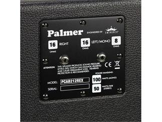 "Palmer MI Gitarrenbox 2 x 12"" mit Eminence Cannabis Rex 8/16 Ohm"