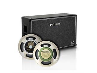 "Palmer MI Gitarrenbox 2 x 12"" mit Celestion Vintage 30 und Greenback 8/16 Ohm"