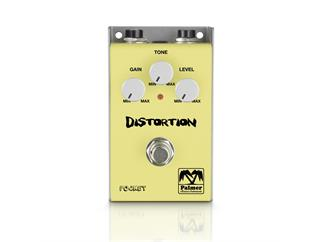 Palmer MI POCKET DISTORTION - Verzerrer Effekt für Gitarre
